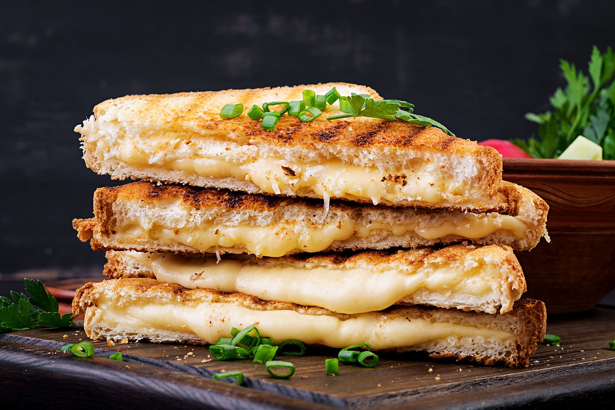 Grilled cheese Cannabis Recipes, Cooking with Cannabis, Cooking with Marijuana, THC Infused Recipes,