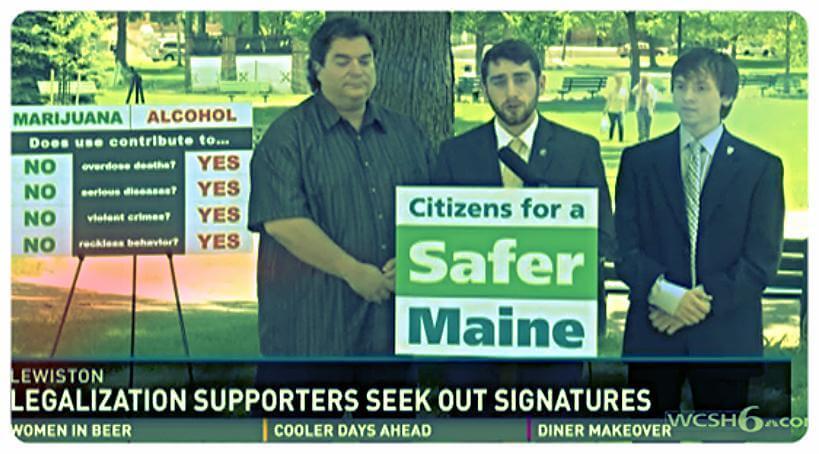 Marijuana Legalization Advocates Push for Recreational Signatures in Maine