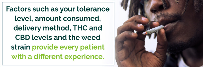 Many factors provide every patient with a different experience