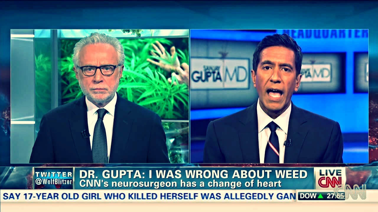 Sanjay Gupta is not Backing Down, But Doubling Down on Medical Marijuana