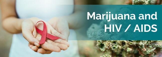 marijuana and hiv aids