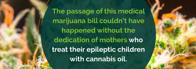 marijuana epileptic children