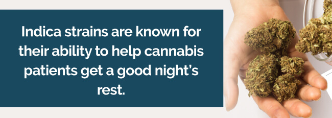 marijuana helps sleep