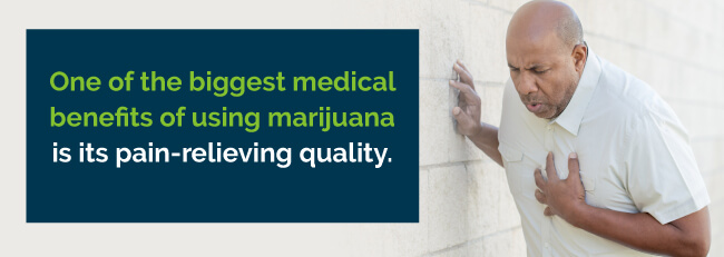 marijuana pain relief