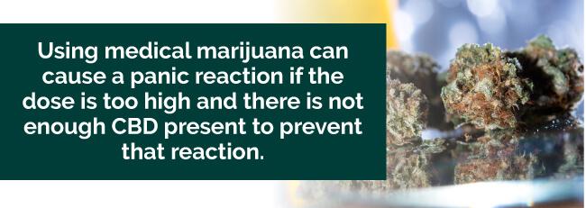 marijuana panic attack