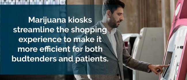 Marijuana kiosks streamline the shopping experience