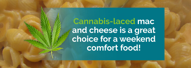 weed mac and cheese