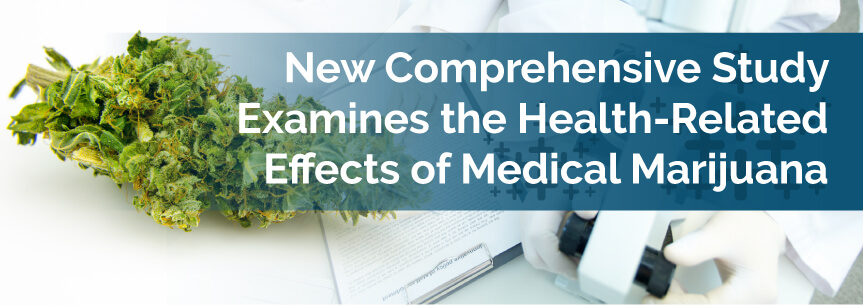 New Comprehensive Study Examines the Health-Related Effects of Medical Marijuana