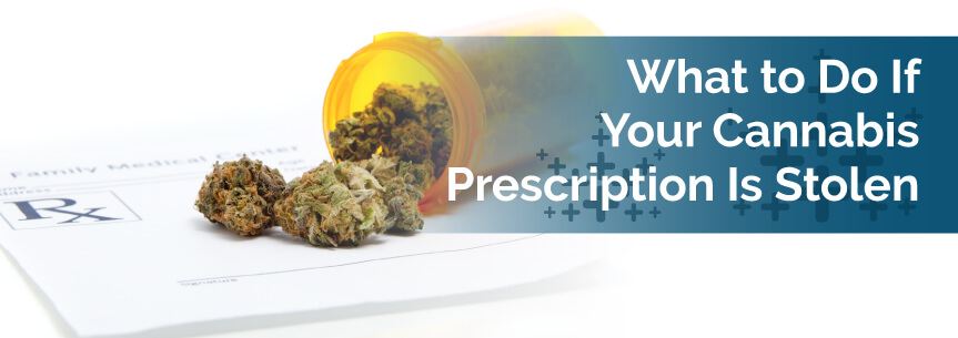 What to Do If Your Cannabis Prescription Is Stolen