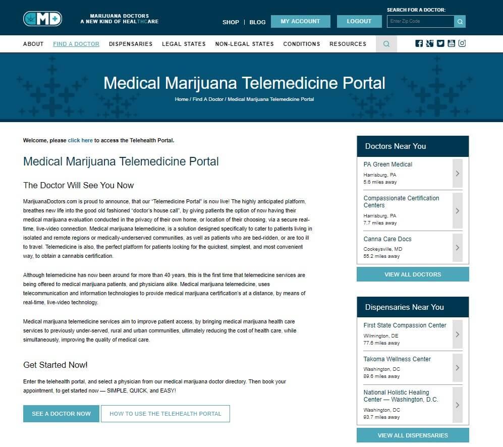 telemedicine portal