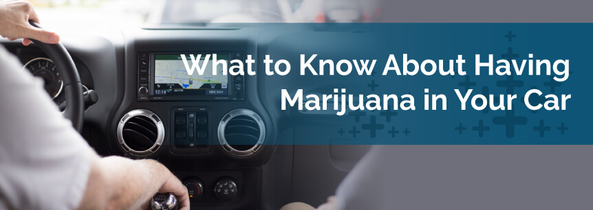 marijuana in car