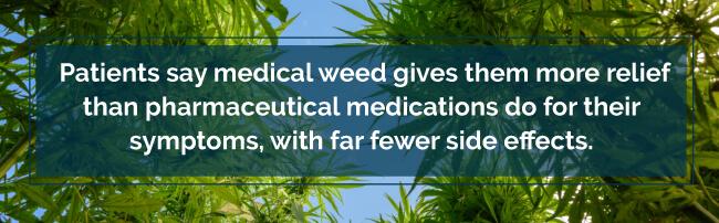 marijuana over pills