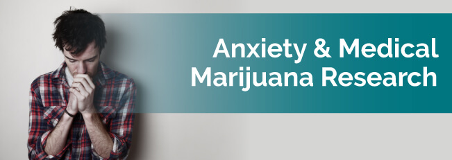 Anxiety & Medical Marijuana Research