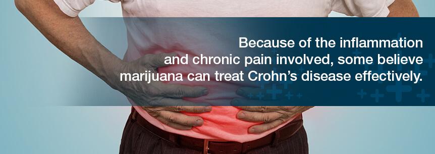 marijuana can treat crohn's disease