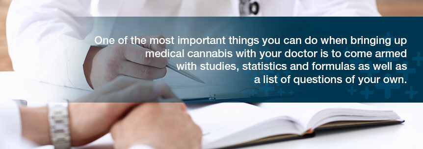 bring up medical cannabis with your doctor