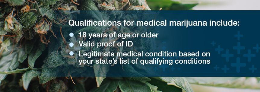 qualifications for medical marijuana