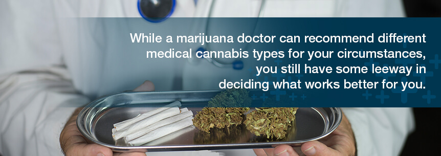 deciding which marijuana type works for you