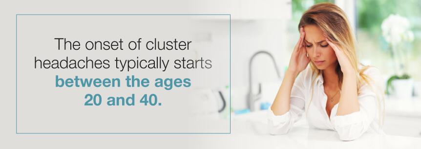 cluster headache age