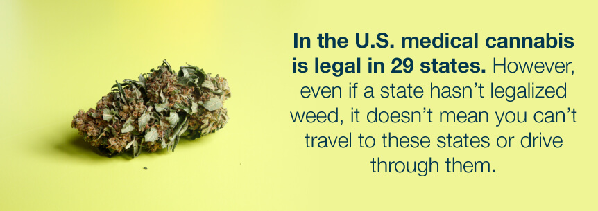 legal in 29 states