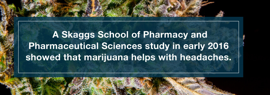 marijuana headache study
