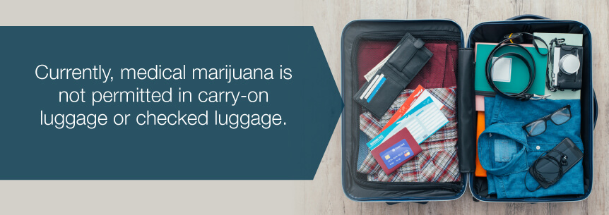 marijuana carry on luggage