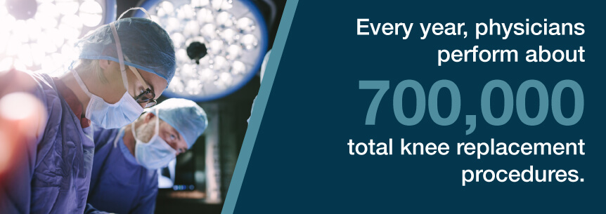 knee replacement stats