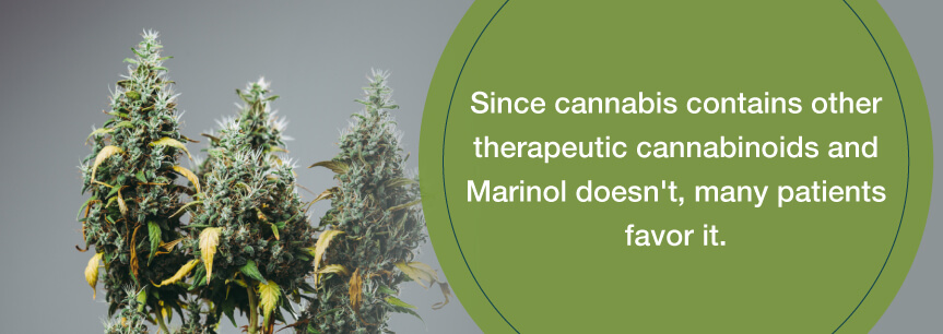 patients prefer cannabis