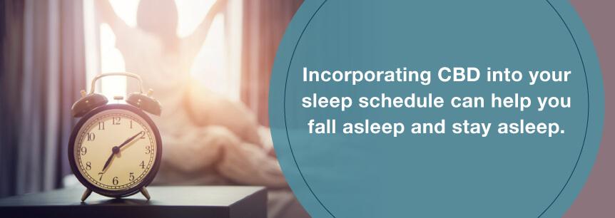 cbd sleep faster