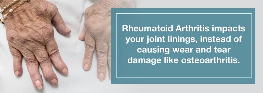 ra vs osteoarthritis