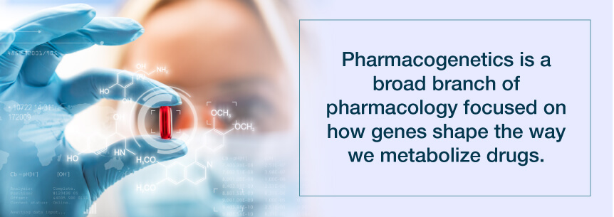 what is pharmacogenetics