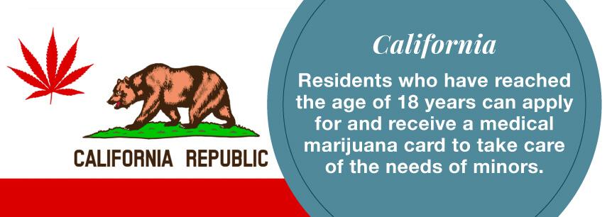 ca marijuana minors