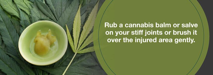 cannabis balm
