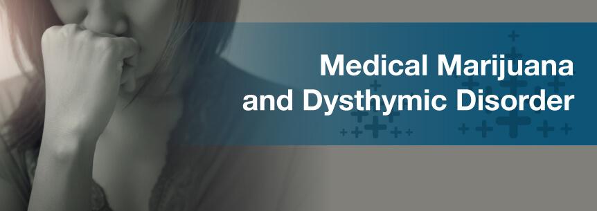 marijuana for dysthymic disorder