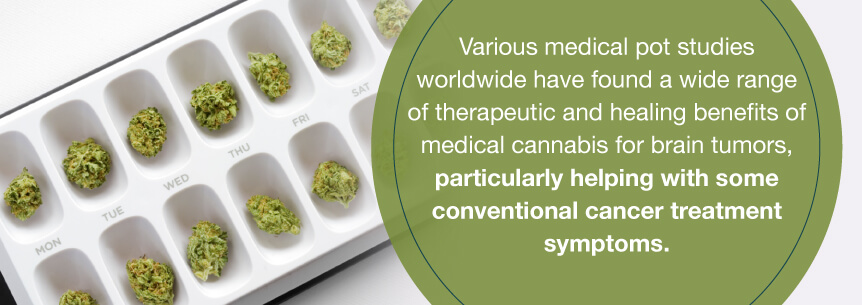 marijuana tumor help