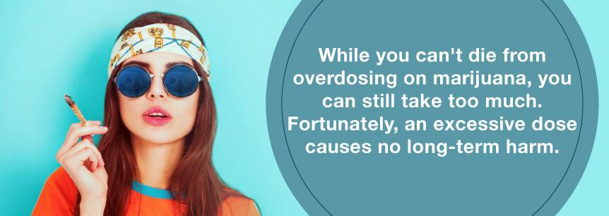 no marijuana overdose
