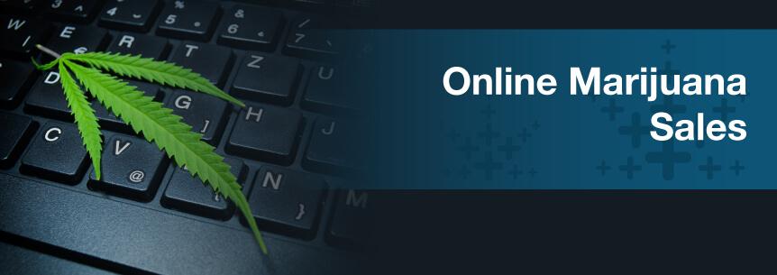 online marijuana sales