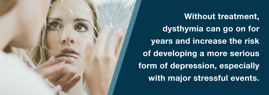 untreated dysthymia