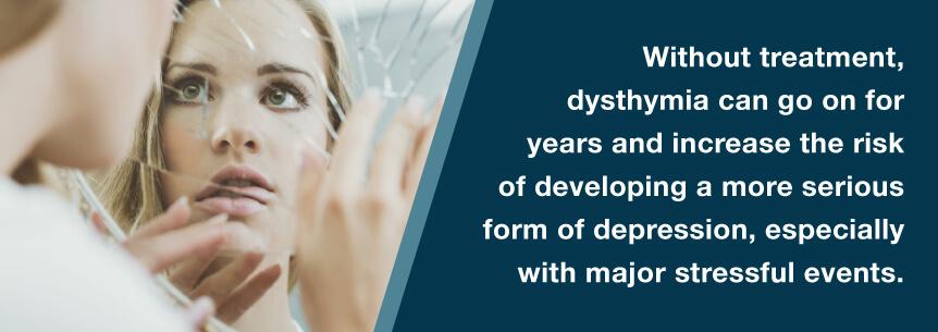 untreated dysthymia