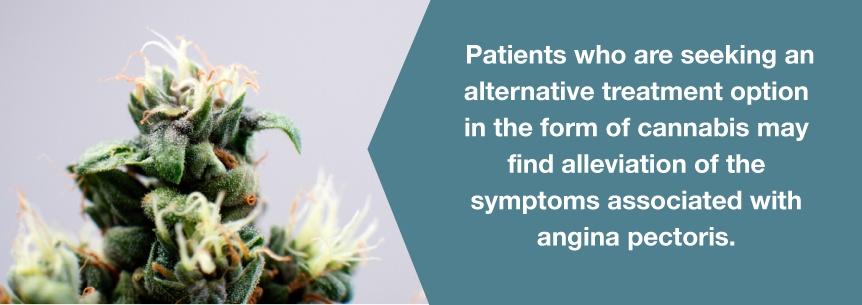 angina pectoris marijuana help