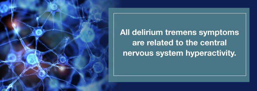 delirium tremen symptoms