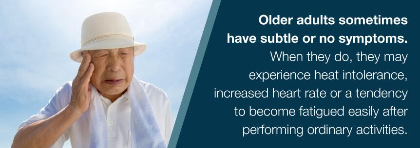 hyperthyroidism in elderly