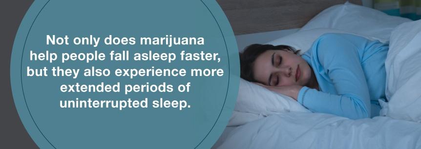 marijuana better sleep