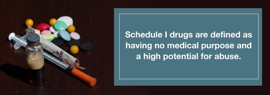 schedule 1 drugs