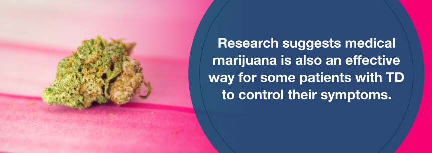 td marijuana help