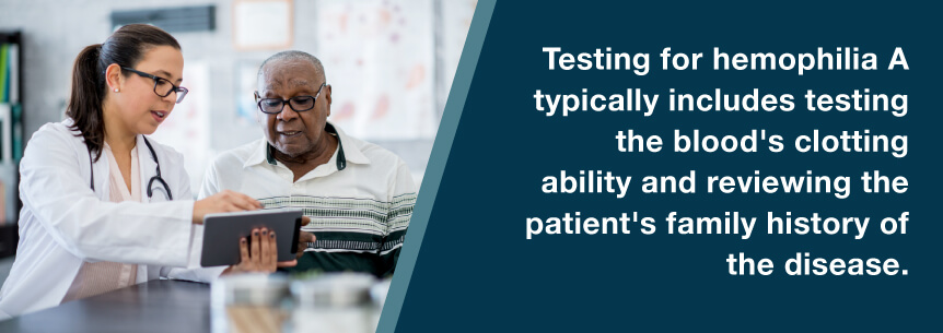 hemophilia testing