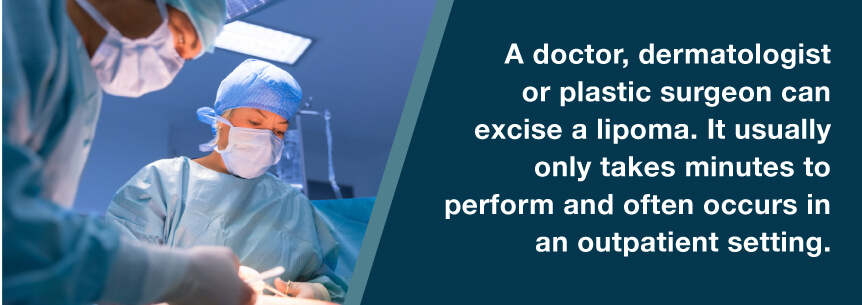 lipoma outpatient surgery