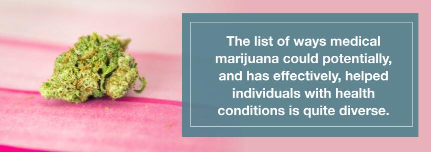 many marijuana benefits