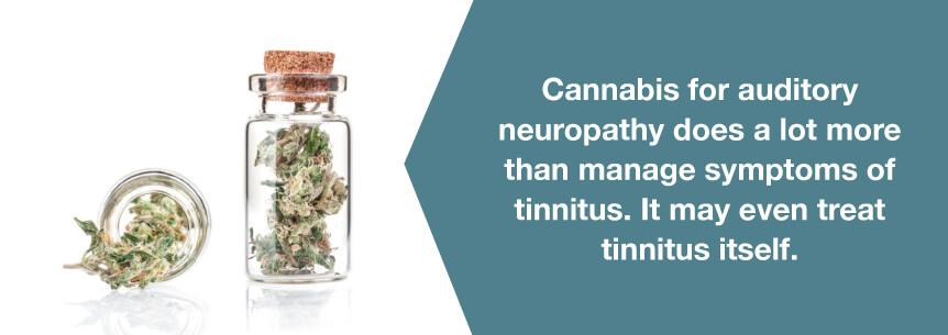 marijuana tinnitus help
