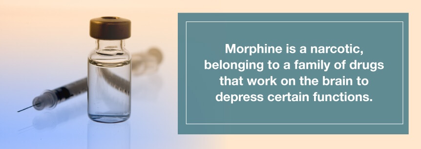 morphine narcotic