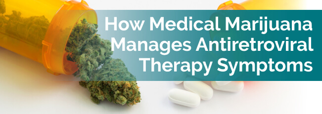 How Medical Marijuana Manages Antiretroviral Therapy Symptoms